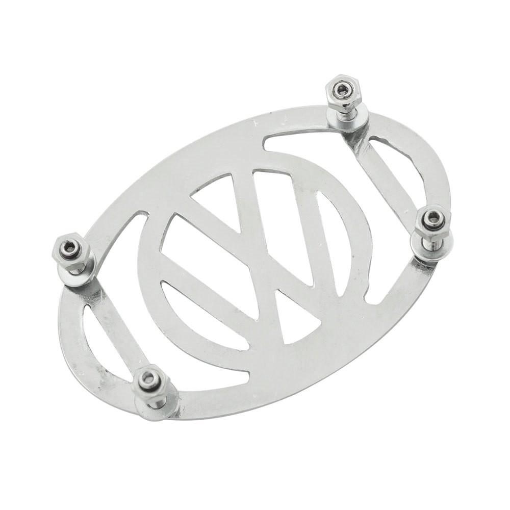 Grade da buzina do paralama VW Fusca modelo Logo VW  - Bunnitu Peças e Acessórios
