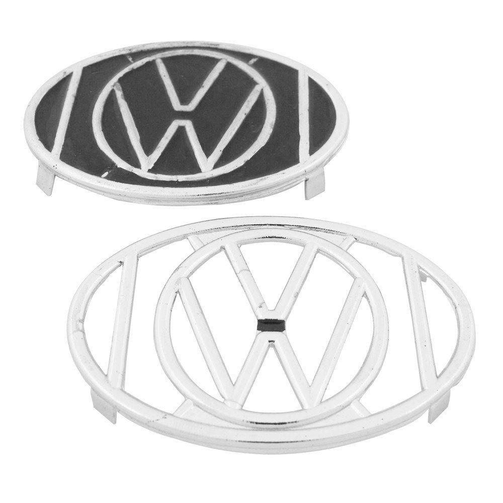 Grade da buzina para VW Fusca com logo  - Bunnitu Peças e Acessórios