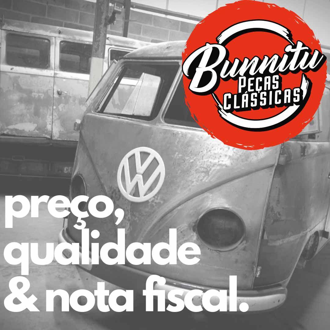Grelha ou Saia protetora do silencioso do escapamento para VW Brasília  - Bunnitu Peças e Acessórios