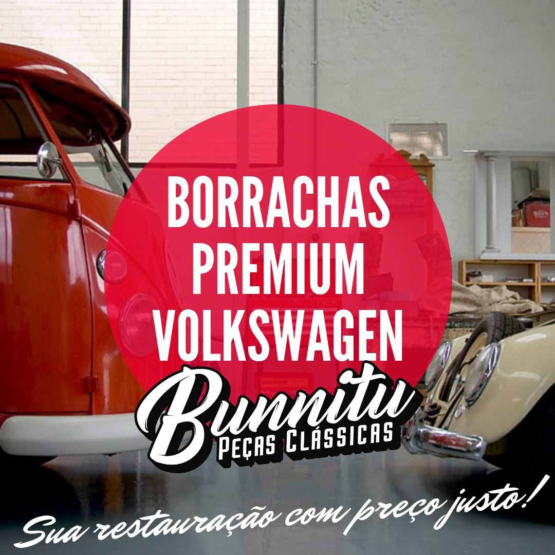 Guarnição borracha da lanterna de placa para VW Fusca 1964 à 1970  - Bunnitu Peças e Acessórios