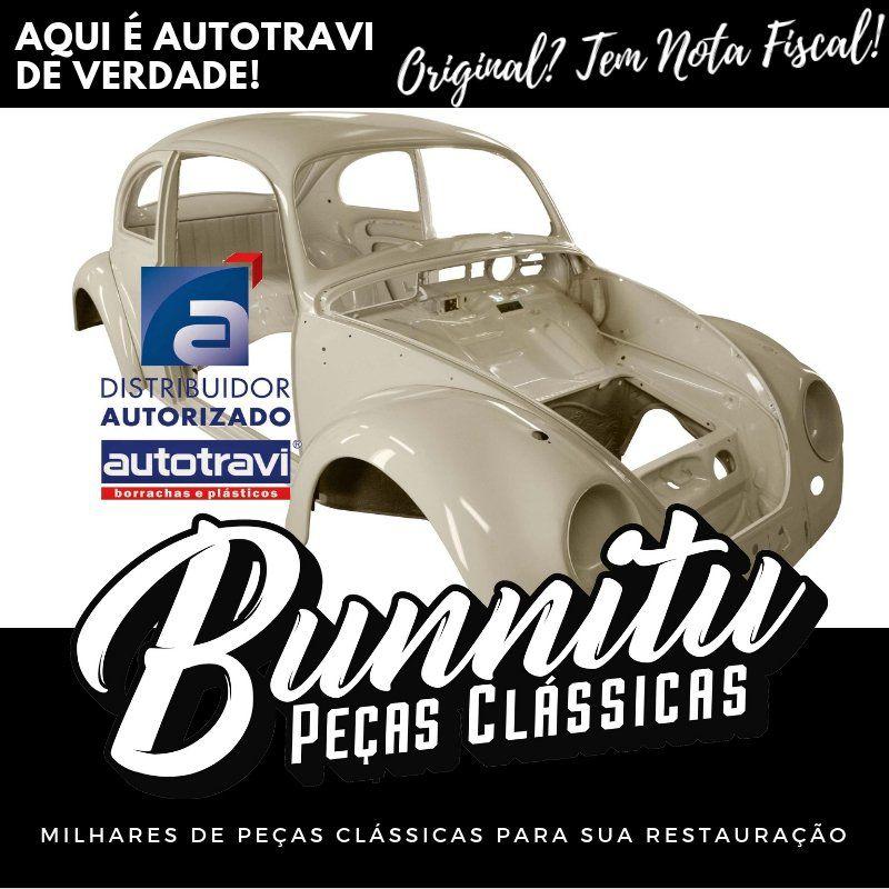 Guarnição Borracha Vedação Tampa Motor VW Kombi 1959 à 1997 - Marca Autotravi  - Bunnitu Peças e Acessórios