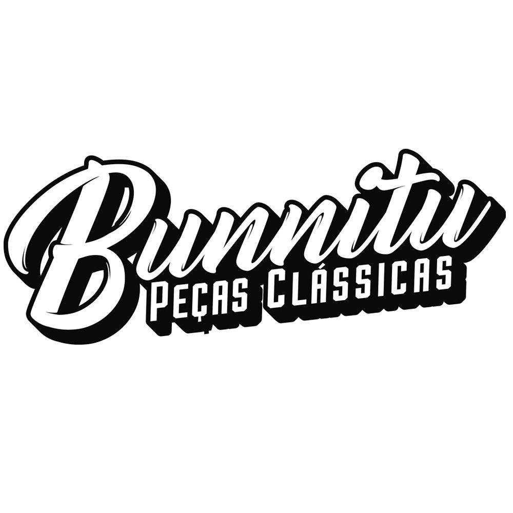 Guarnição borracha de vedação do vidro vigia modelo com encaixe do friso para GM Chevette  - Bunnitu Peças e Acessórios