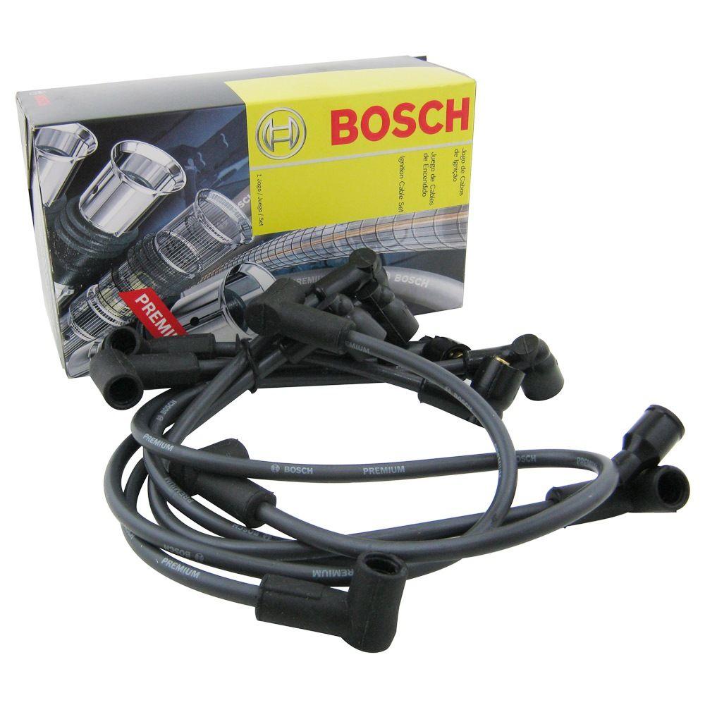 Jogo cabo de vela supressivo Bosch GM 6 Cilinros Opala Caravan Veraneio C-10  - Bunnitu Peças e Acessórios