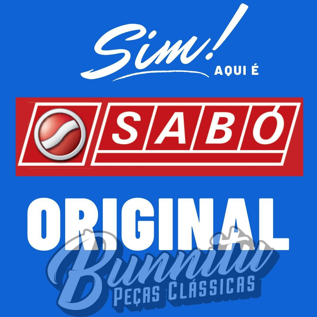 Jogo de juntas Sabó para Motores Ford CHT Corcel e Belina 1.4 Gasolina 1978 à 1983 - Sem retentor  - Bunnitu Peças e Acessórios