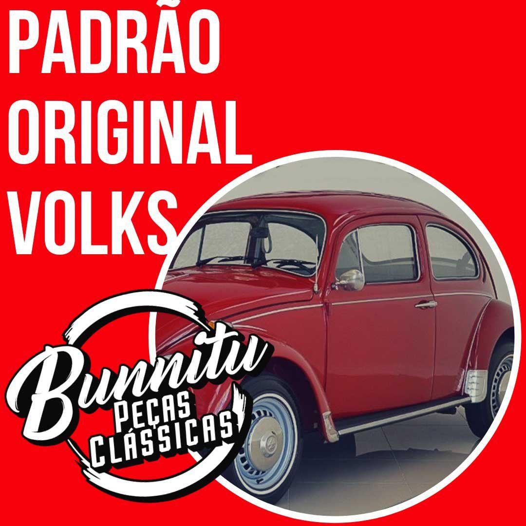 Jogo de polainas em inox 8 peças VW Fusca  - Bunnitu Peças e Acessórios