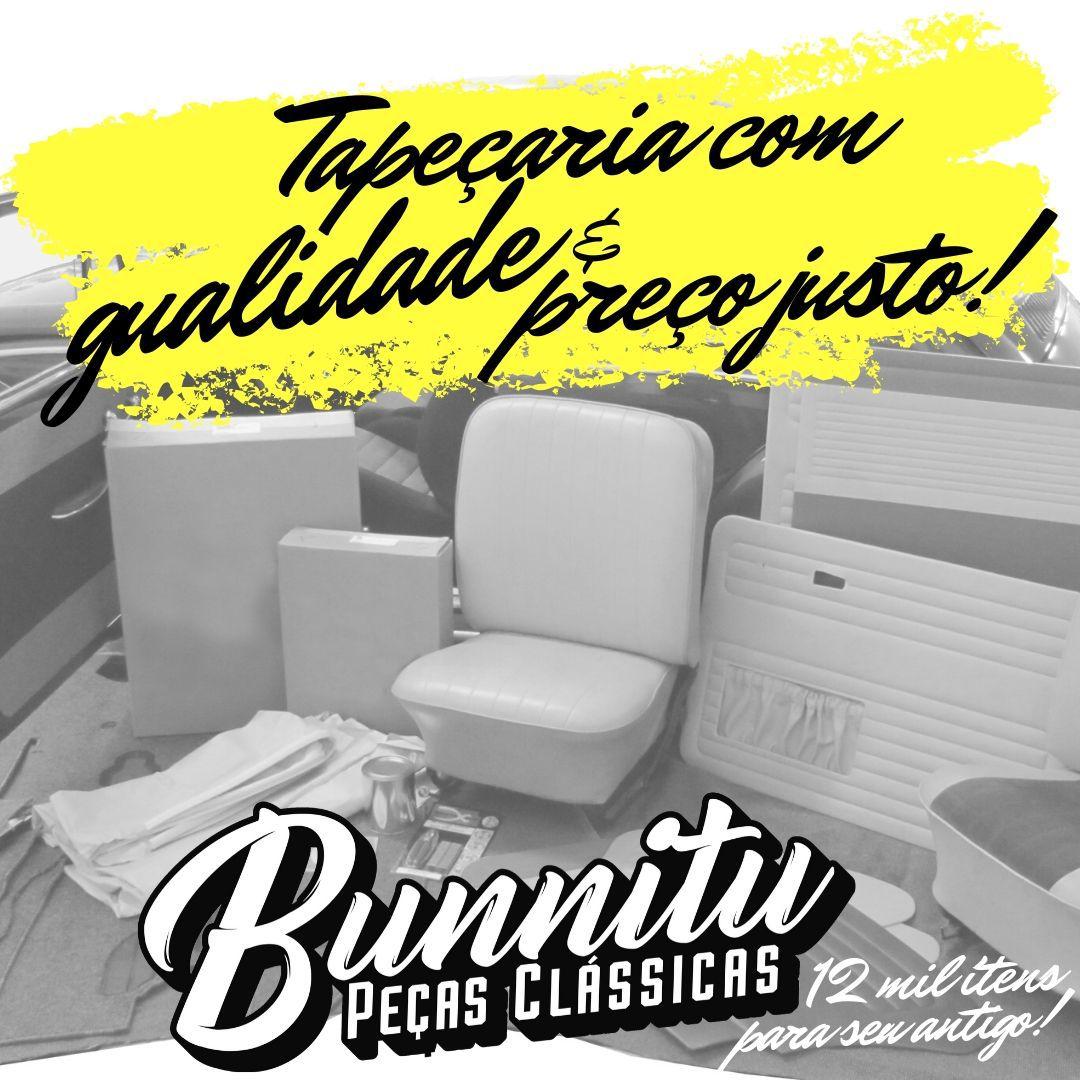 Jogo Forração Porta Dianteira Lateral Cor Preta Puma GTB Modelo S1  - Bunnitu Peças e Acessórios
