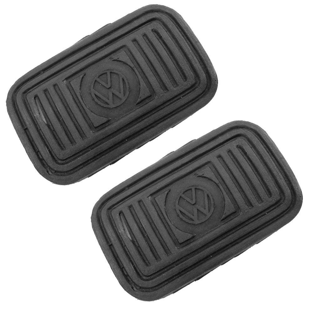 Kit, Capa de borracha do pedal freio e embreagem para VW SP2  - Bunnitu Peças e Acessórios