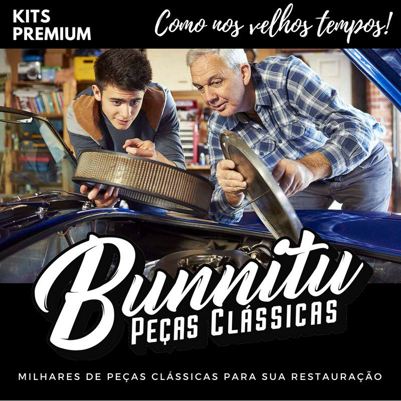Kit Reparo Carburador VW Fusca  Kombi 1200  - Bunnitu Peças e Acessórios