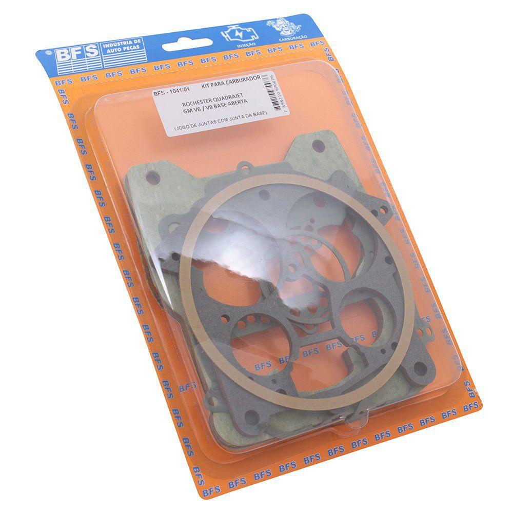 Kit Reparo Carburador Rochester Quadrajet GM V6 V8  - Bunnitu Peças e Acessórios