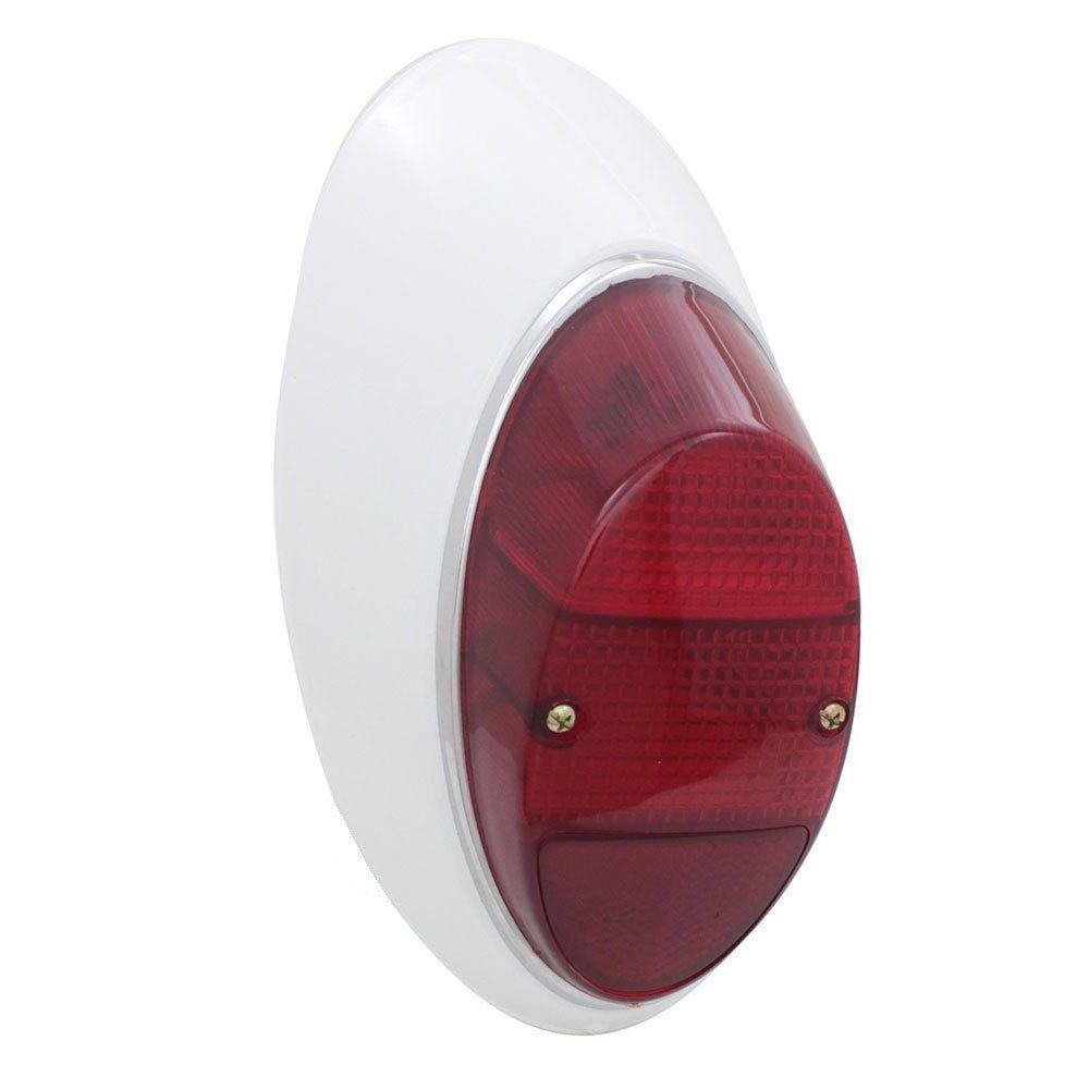 Kit Lanterna traseira toda vermelha para VW Fusca 1200 1300  - Bunnitu Peças e Acessórios