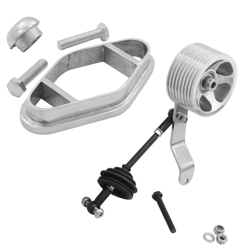 Kit Pedal rolo modelo Billet Com 2 rolamentos para acelerador + Cambio Jet Quick Shift VW Kombi  - Bunnitu Peças e Acessórios