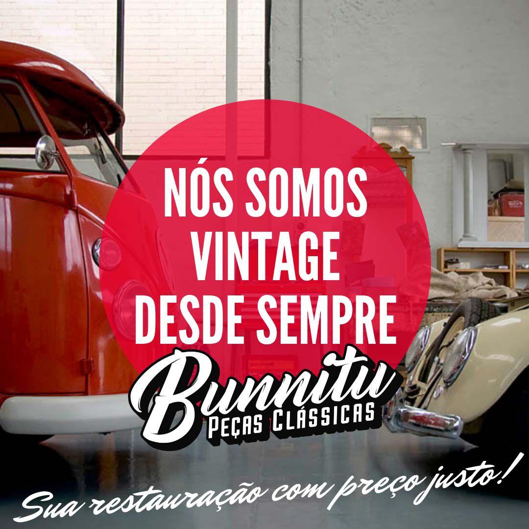 Lanterna de pisca dianteiro para VW Kombi 1962 à 1974 cristal marca Leão - Lado do Motorista  - Bunnitu Peças e Acessórios
