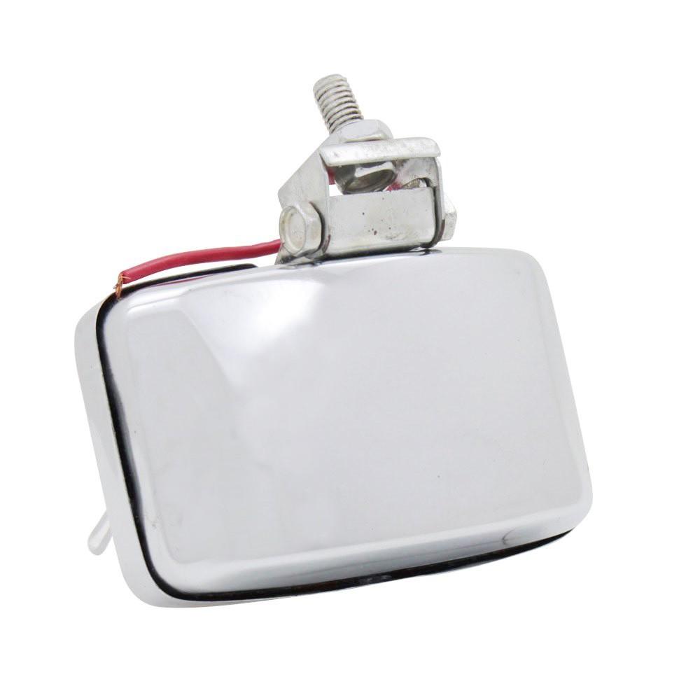 Lanterna de ré aplicação Universal com lente cristal  - Bunnitu Peças e Acessórios