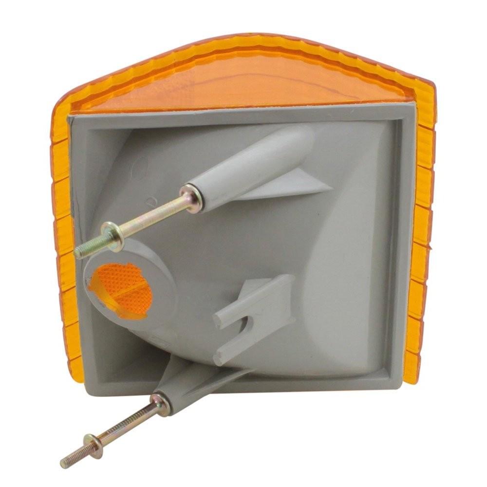 Lanterna do Pisca Dianteiro Ambar GM Opala Caravan 1980 à 1987 - Lado Passageiro  - Bunnitu Peças e Acessórios