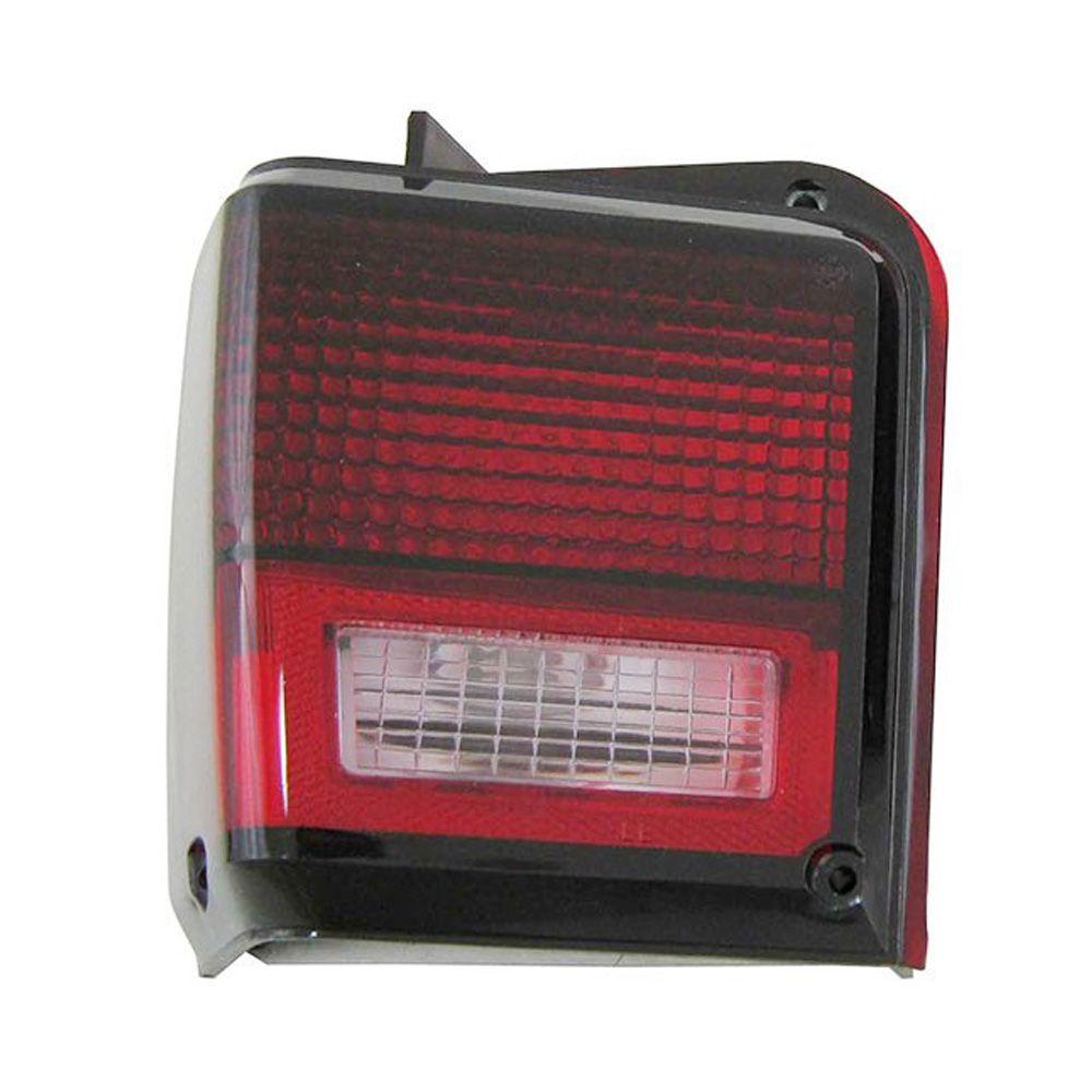 Lanterna traseira acrílica rubi para Ford Belina 1978 à 1984 - Lado do Motorista  - Bunnitu Peças e Acessórios