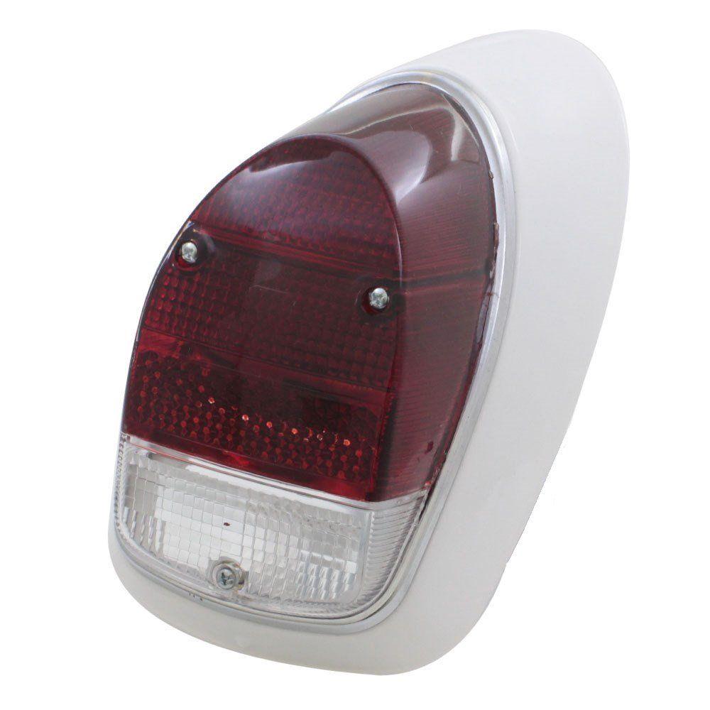 Lanterna traseira bicolor para VW Fusca 1500 e 1600-S - Lado do Passageiro  - Bunnitu Peças e Acessórios