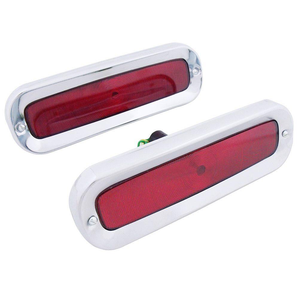 Lanterna traseira em metal para Puma GT Malzoni  - Bunnitu Peças e Acessórios