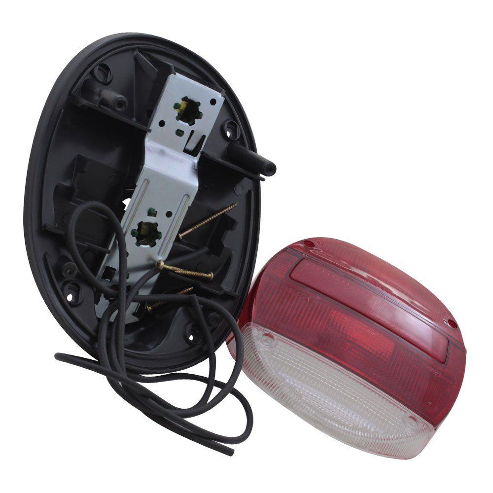 Lanterna traseira para VW Fusca modelo bicolor Fafá  - Bunnitu Peças e Acessórios