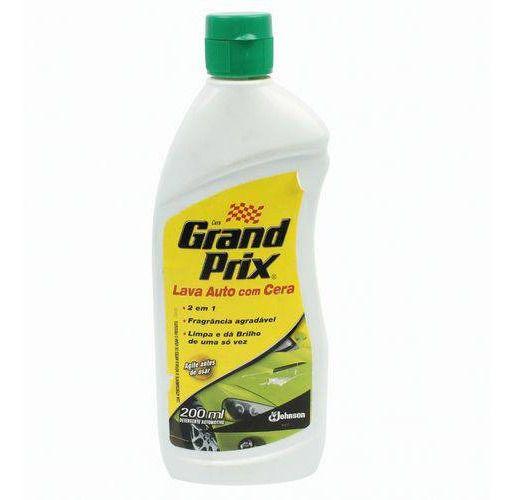 Lava Auto com Cera Grand Prix 200ML  - Bunnitu Peças e Acessórios