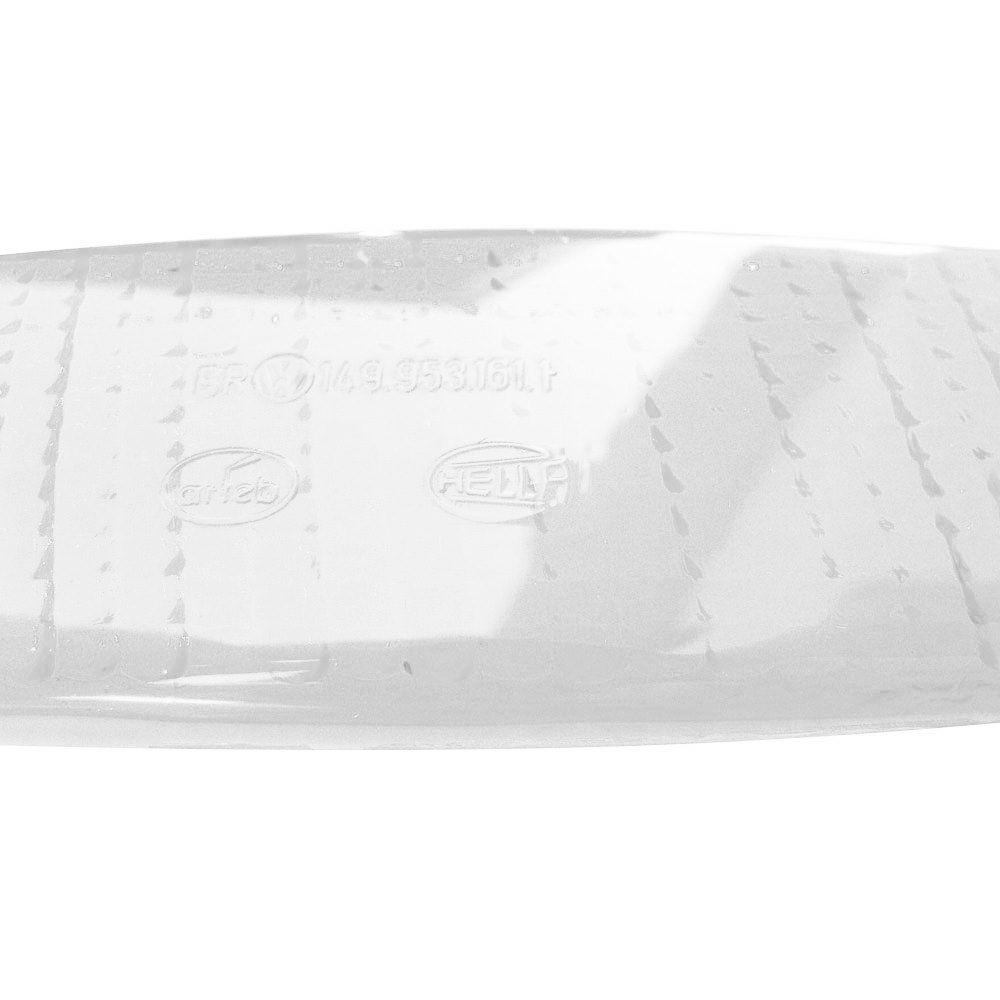 Lente cristal da lanterna de pisca dianteiro para VW Sp2  - Bunnitu Peças e Acessórios
