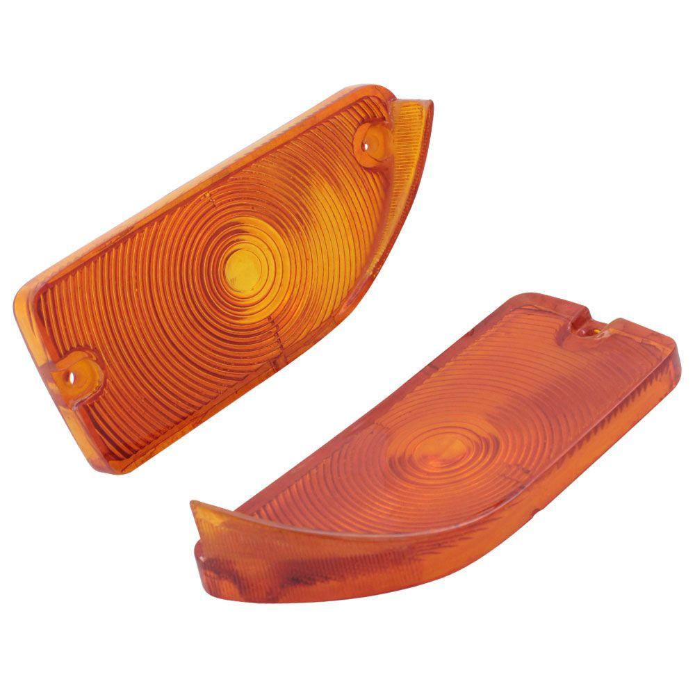Lente da lanterna de pisca ambar para Ford  Maverick  - Bunnitu Peças e Acessórios