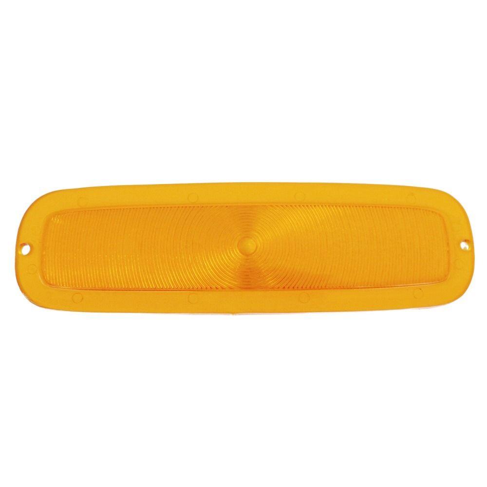 Lente da lanterna de pisca na cor âmbar para GM Chevrolet A-10, C-10, D-10 e C-14  - Bunnitu Peças e Acessórios