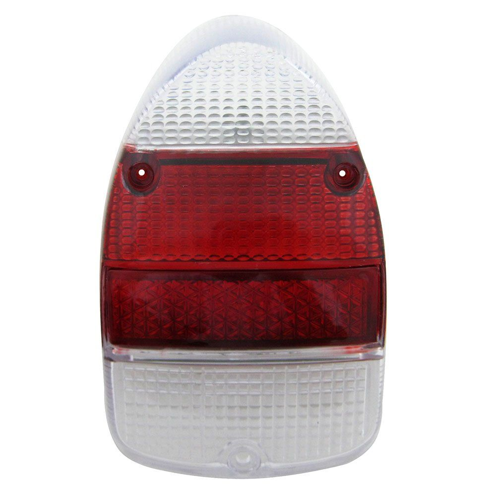 Lente da lanterna traseira modelo rubi cristal VW Fusca 1500 1600-S - Acrílico  - Bunnitu Peças e Acessórios