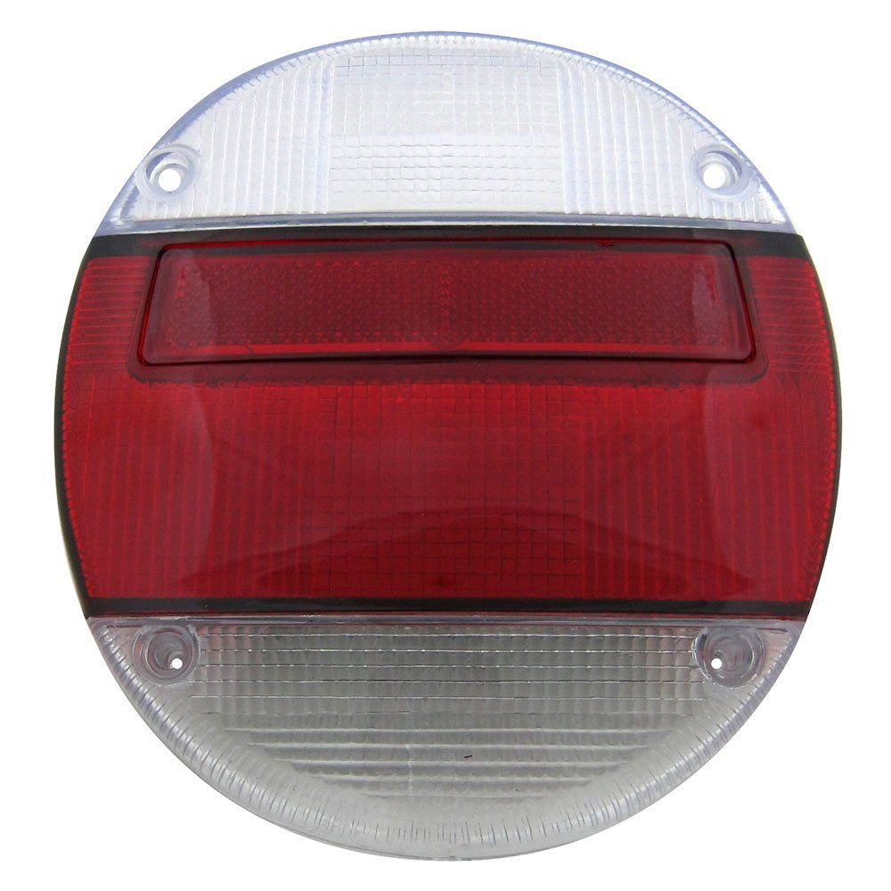 Lente da lanterna traseira modelo rubi cristal para VW Fusca 1976 à 1996  - Bunnitu Peças e Acessórios