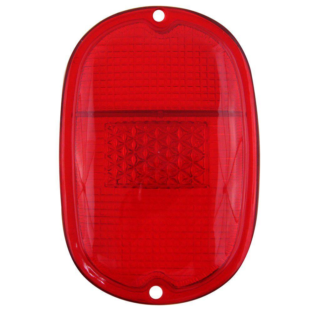Lente da lanterna traseira modelo rubi para VW Kombi 1963 à 1975  - Bunnitu Peças e Acessórios