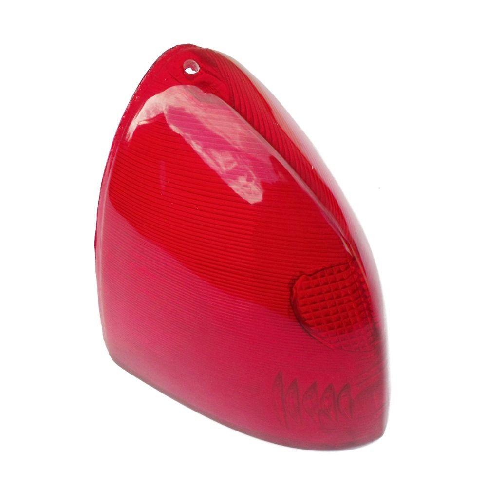 Lente da lanterna traseira para Aero Willys bolinha  - Bunnitu Peças e Acessórios