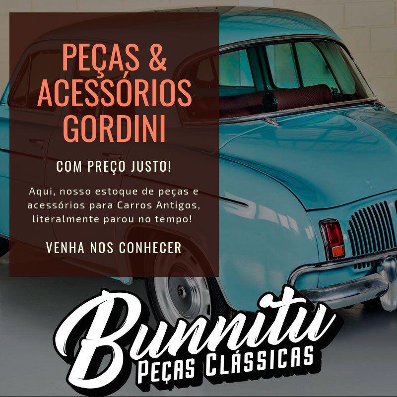Lente Lanterna Traseira Renault Willys Gordini 1966 à 1968  - Bunnitu Peças e Acessórios