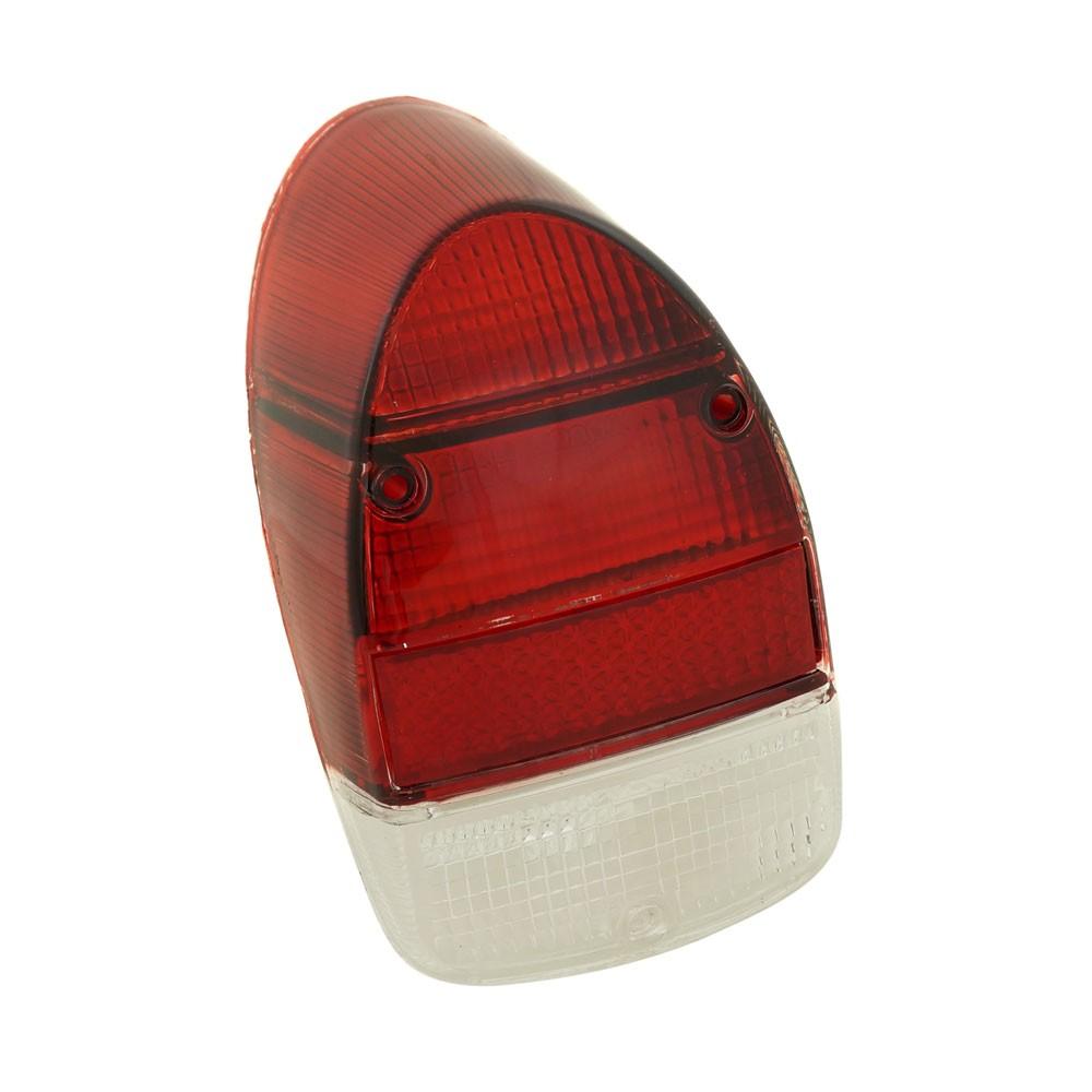 Lente da lanterna traseira para VW Fusca 1500 1600-S - Acrílico  - Bunnitu Peças e Acessórios