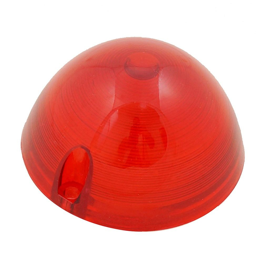 Lente de pisca vermelha modelo peito de moça para Chevrolet Brasil e Porsche Spyder  - Bunnitu Peças e Acessórios