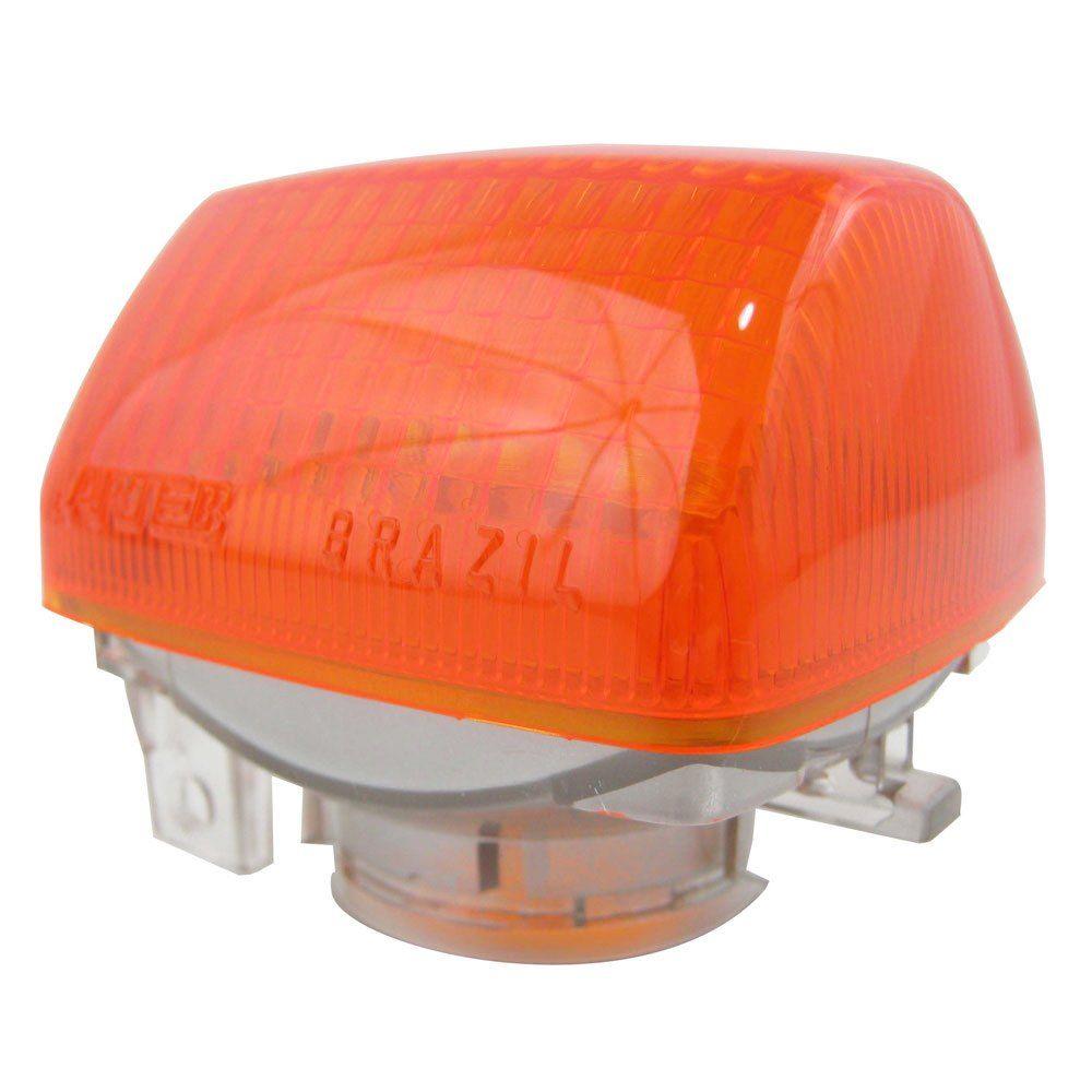 Lente original da lanterna de pisca para Honda CBX 750  - Bunnitu Peças e Acessórios