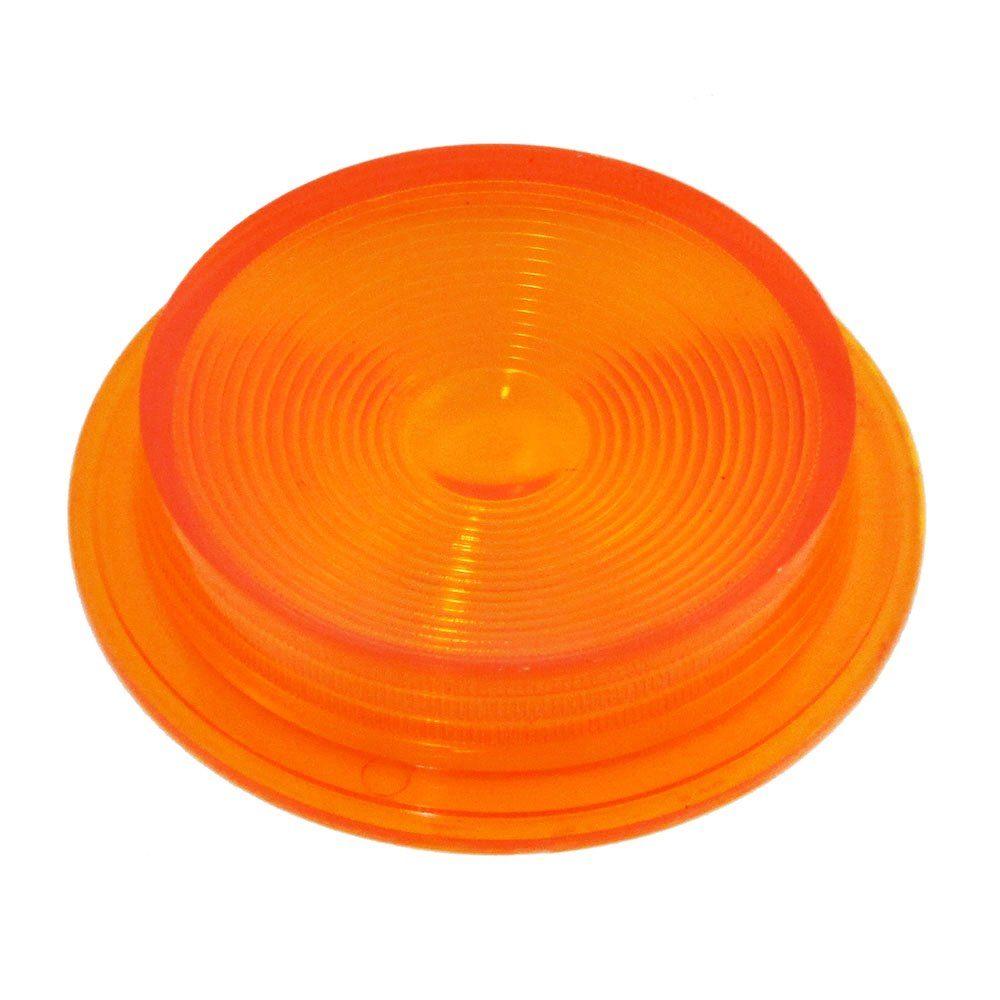 Lente amarela para lanterna modelo Pirulito  - Bunnitu Peças e Acessórios