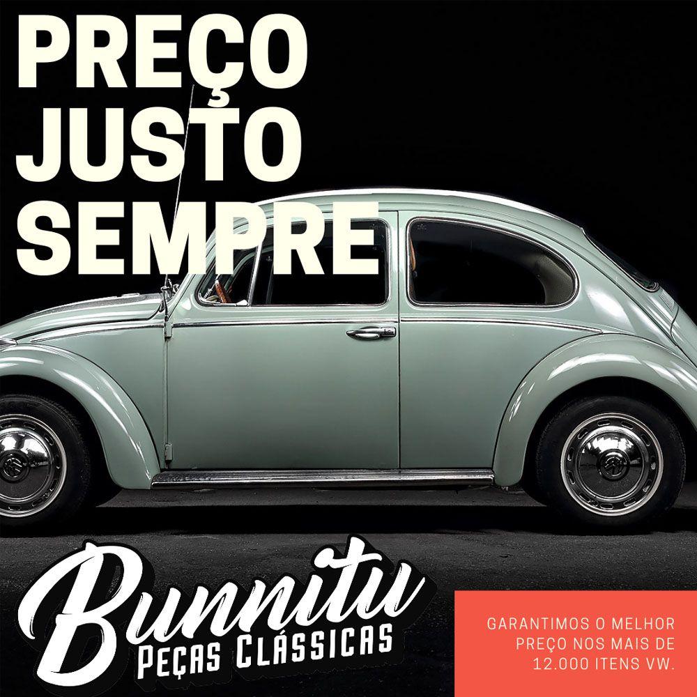 Mancal de borracha do facão para VW Fusca, Brasília e Variant - Lado do Motorista  - Bunnitu Peças e Acessórios