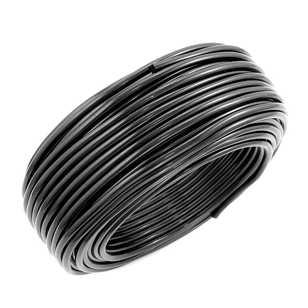 Mangueira plástica preta para esguicho do limpador do parabrisa  - Bunnitu Peças e Acessórios