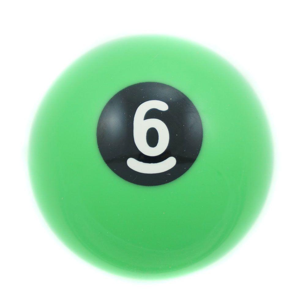 Manopla de câmbio mod. bola de bilhar nº 6   - Bunnitu Peças e Acessórios