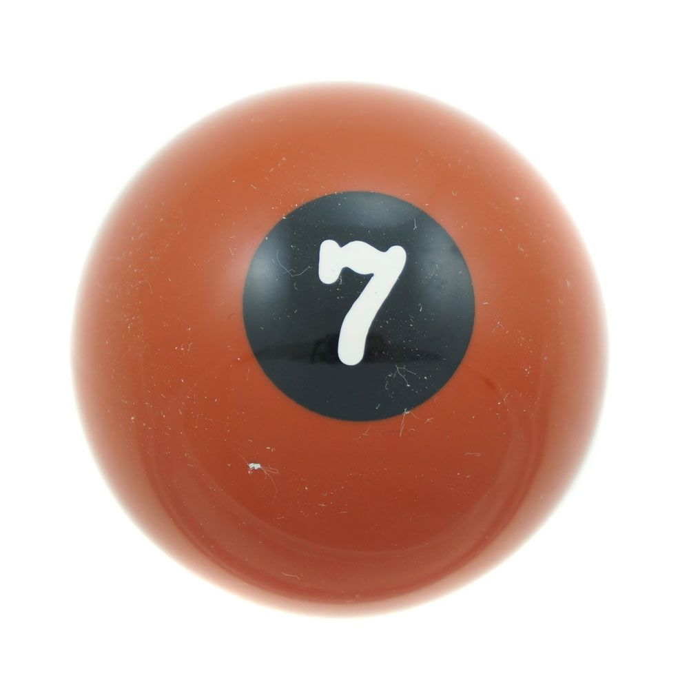 Manopla de câmbio modelo bola de bilhar nº 7  - Bunnitu Peças e Acessórios
