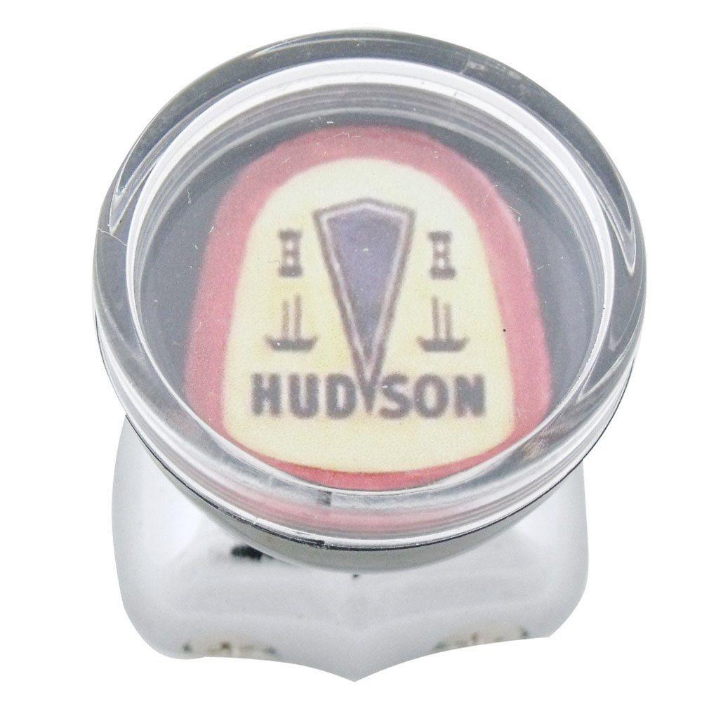 Manopla giratória logo Hudson para volante de carro antigo  - Bunnitu Peças e Acessórios