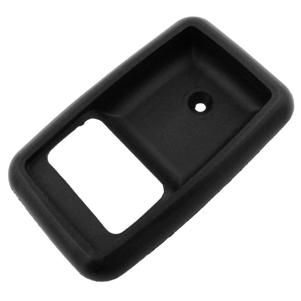 Moldura da maçaneta interna modelo preta para Ford Corcel 2  - Bunnitu Peças e Acessórios