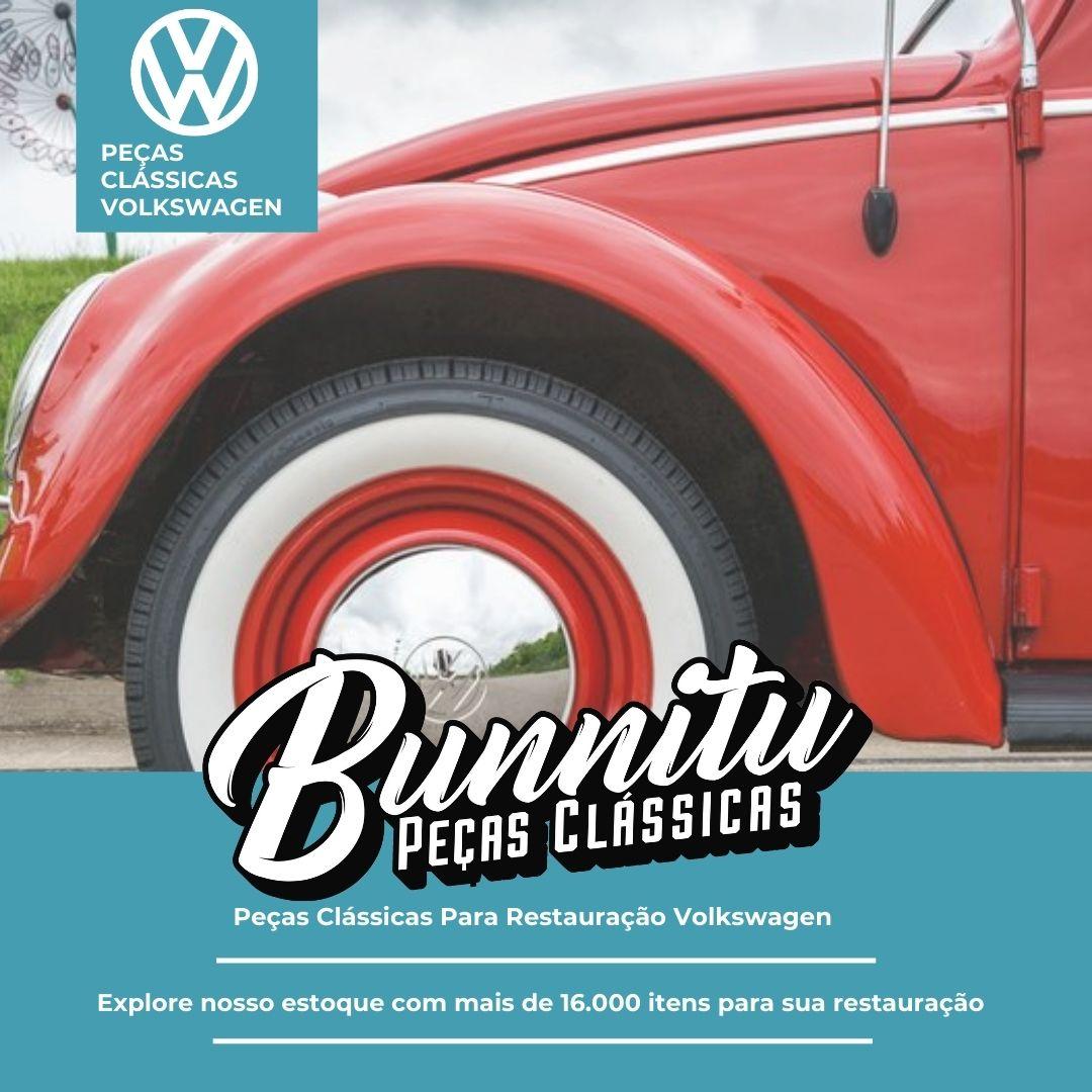 Pacote de chupetinhas para fixação dos frisos laterais externos para VW Fusca até 1970  - Bunnitu Peças e Acessórios