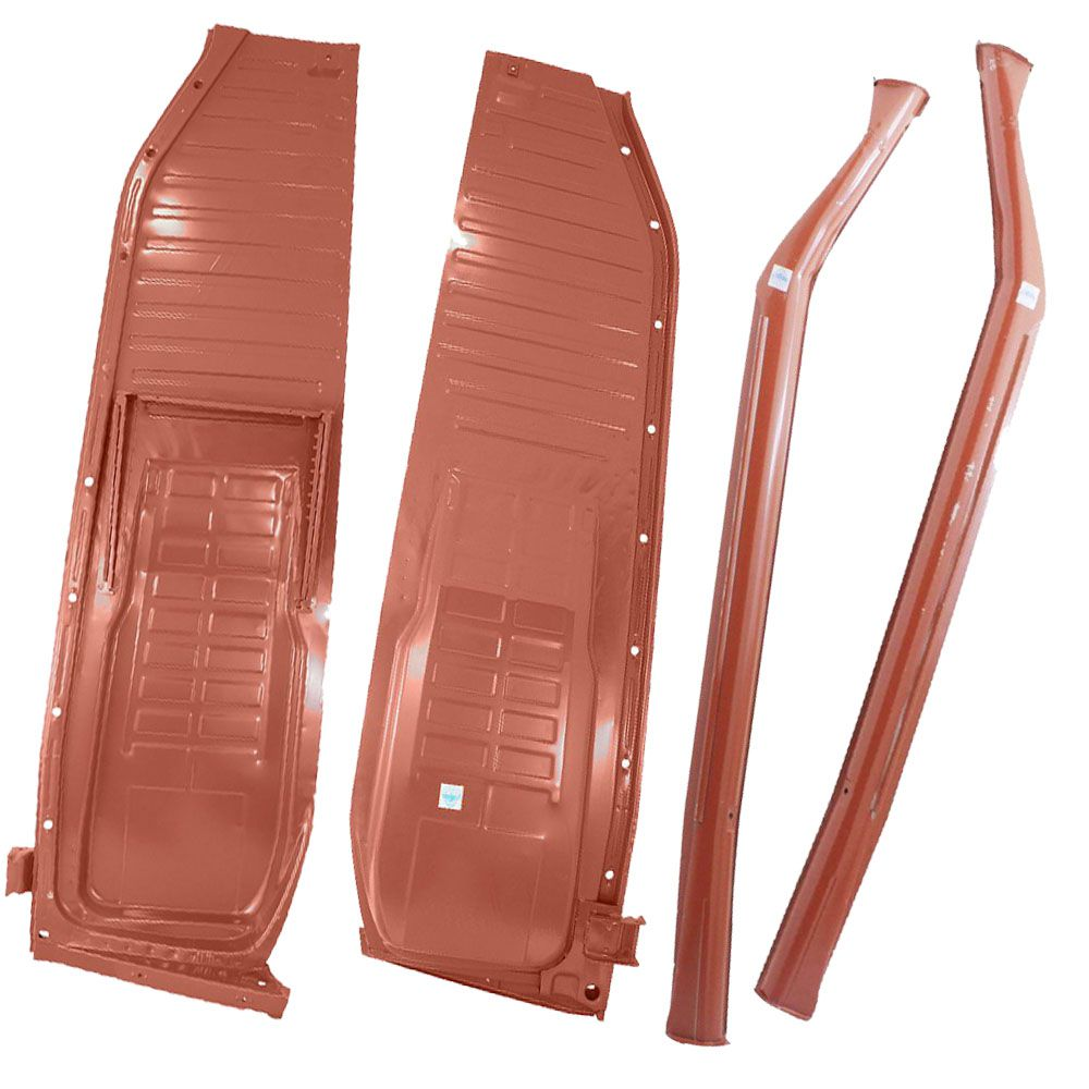 Kit, Assoalho 1976 À 1996 + Caixa De Ar VW Fusca - Marca Estriguaru  - Bunnitu Peças e Acessórios