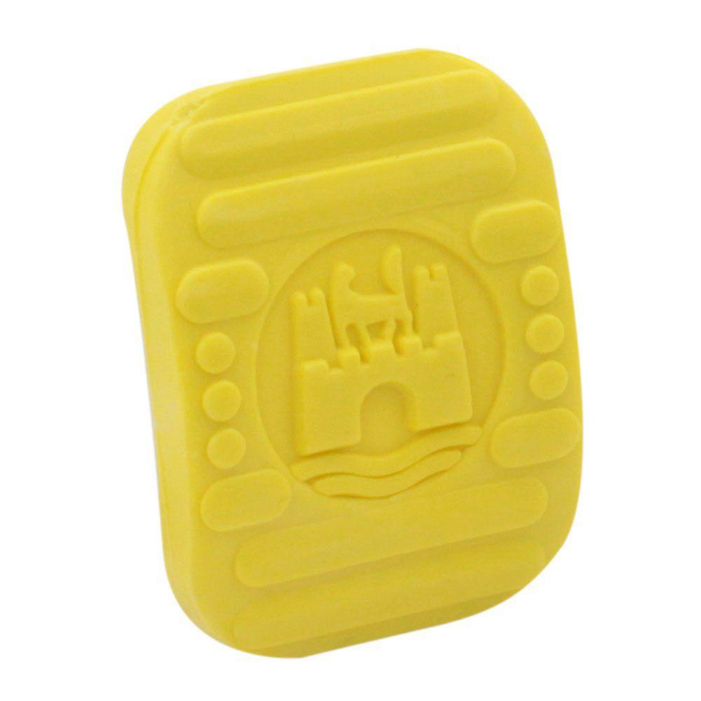 Par Capa Premium Logo Wolfsburg Pedal Freio Embreagem Linha VW Ar na cor Amarela  - Bunnitu Peças e Acessórios