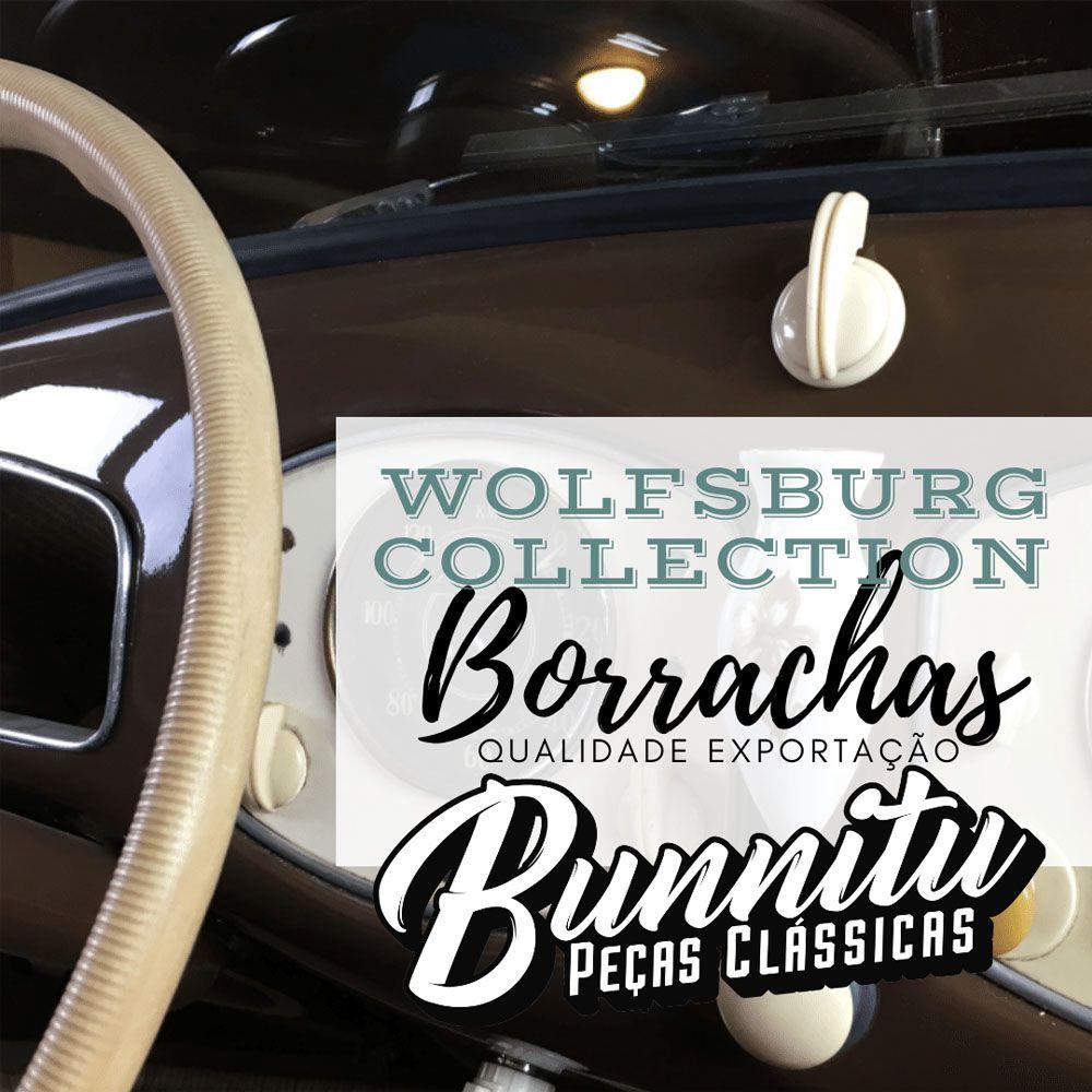 Par Capa Premium Logo Wolfsburg Pedal Freio Embreagem Linha VW Ar na cor Azul  - Bunnitu Peças e Acessórios