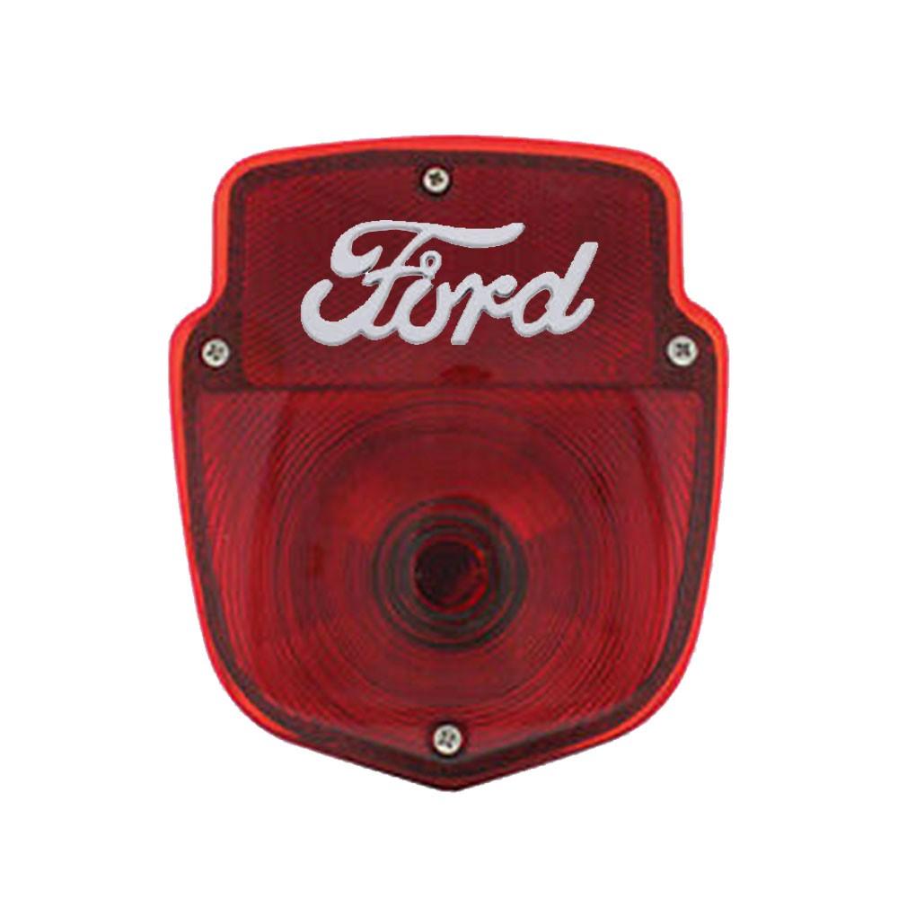Par de Lanternas traseiras para Ford Pick Up F100 1953 à 1956  - Bunnitu Peças e Acessórios