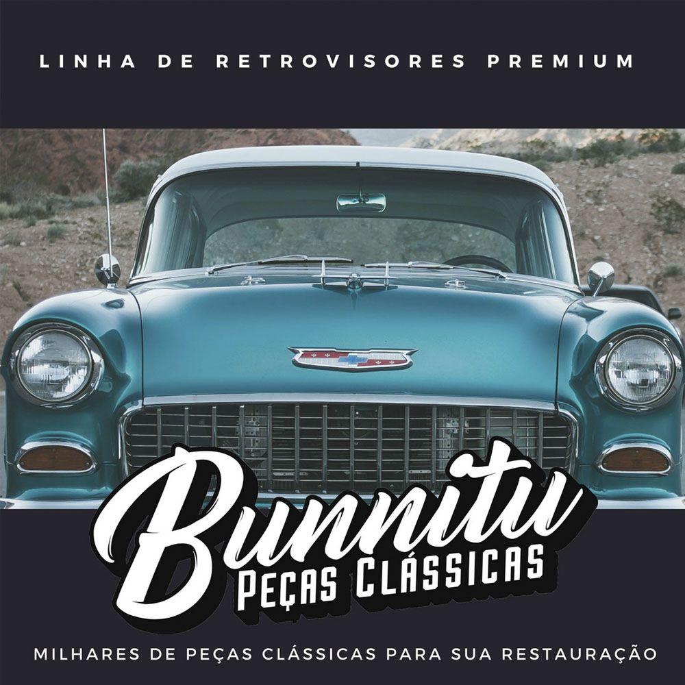 Par, Espelho retrovisor para GM Chevrolet Brasil, C-10 e C-14  - Bunnitu Peças e Acessórios