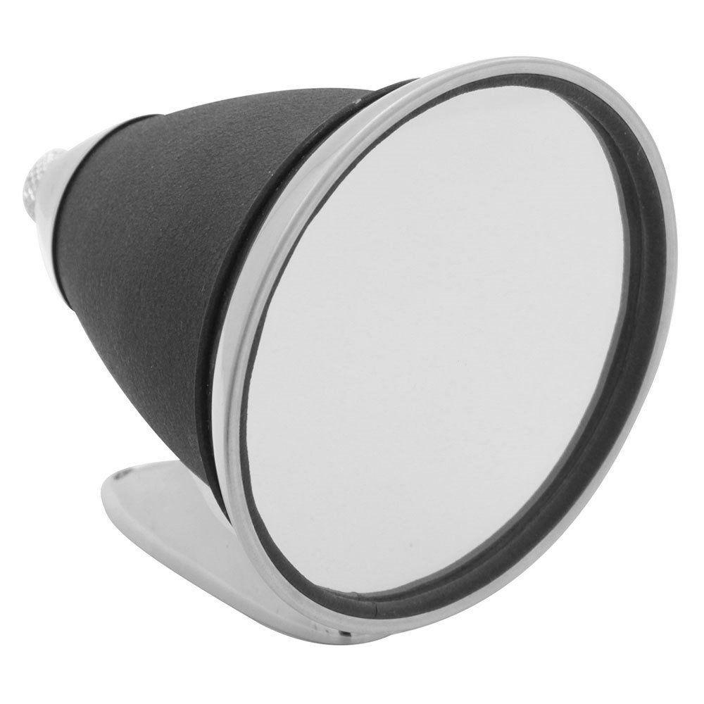 Par, Espelho retrovisor para Porsche Spyder com copo preto  - Bunnitu Peças e Acessórios