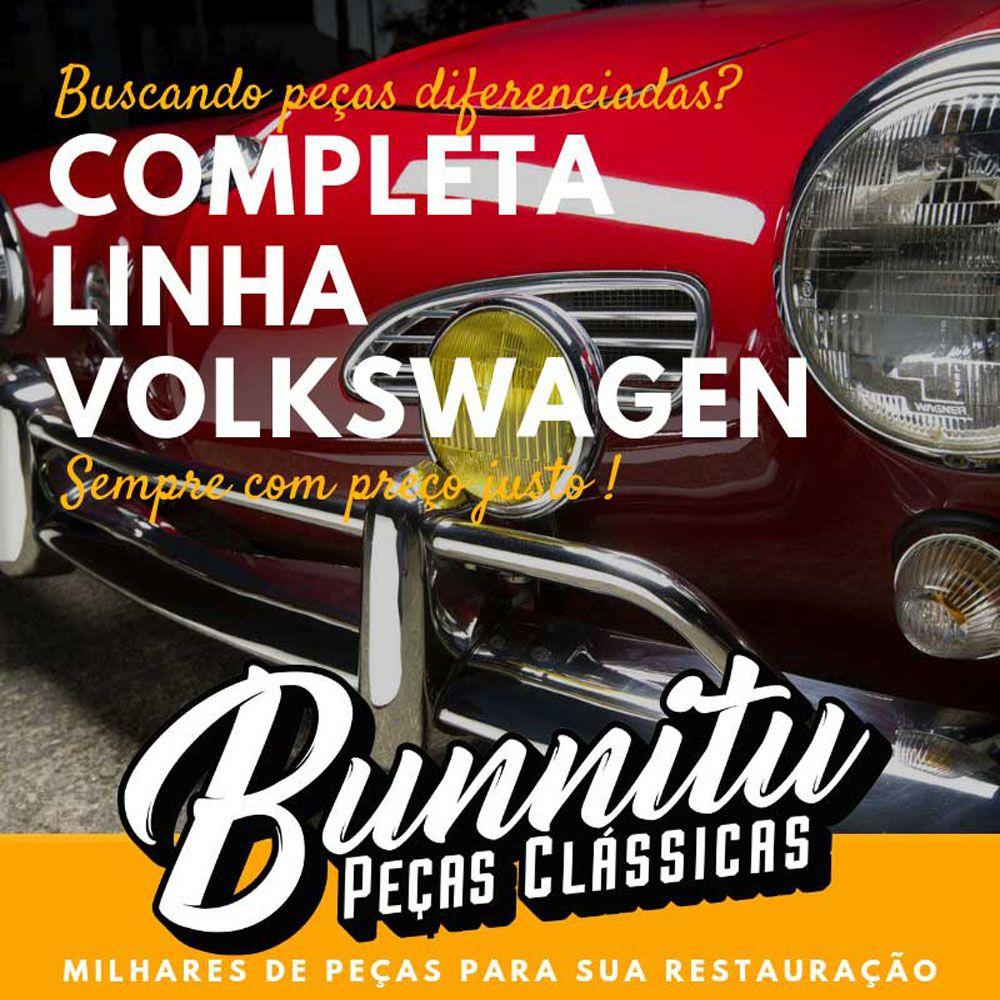 Par, Guarnição de borracha da lanterna traseira para VW Karmann Ghia 1967 à 1972  - Bunnitu Peças e Acessórios