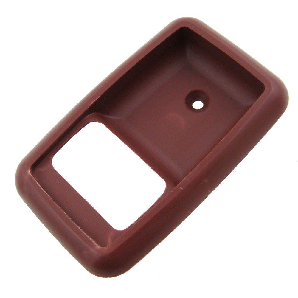 Par, Moldura da maçaneta interna mod. marrom para Ford Corcel 2  - Bunnitu Peças e Acessórios